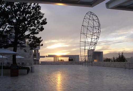 Getty at Sunset
